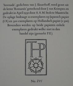 J Slauerhoff Nederlandse Poëzie Encyclopedie