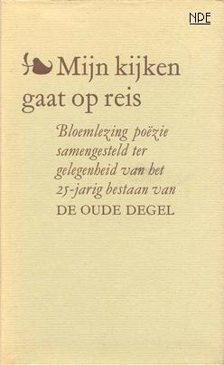 Uitgelezene Mijn kijken gaat op reis, 1987. Nederlandse Poëzie Encyclopedie MT-04